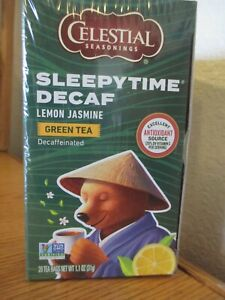 Celestial Seasonings Sleepytime Decaf Lemon Jasmine Green Tea