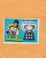 1971-72 O PEE CHEE PHIL ESPOSITO ART ROSS NO:247  NEAR MINT