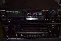 Kenwood Audio-Video Stereo Receiver KR-V-7050 + Stereo Cassette-Deck KX-1100 HX