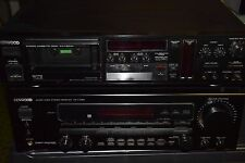 Kenwood Audio-Video Stereo Receiver KR-V-7050 + Stereo Cassette-Deck KX-1100 HX