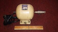 small vintage watchmaker lathe bench motor