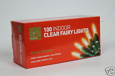 Clear Fairy Lights Christmas Tree Bulbs Xmas 100 Indoor Light Party Decoration
