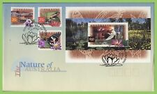 Australia 1997 Fauna and Flora m/s and three stamp First Day Cover