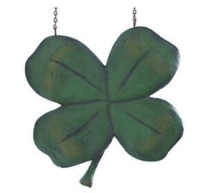 """Four Leaf Clover Arrow Replacement Sign Decoration 11.5"""" St Patricks Day"""