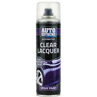 9 x Clear Lacquer Aerosol Spray Cans 250ml Car Auto Extreme Spray Paint