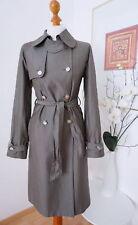 DOLCE & GABBANA Seide Schurwolle Trenchcoat Luxustrench Coat Mantel 40