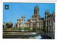 Postcard: Communications Palace, Madrid, Spain
