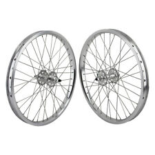 "20x1.75"" SE Racing Sealed Bearing Wheelset BMX SILVER"