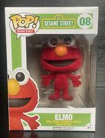 Funko Pop! Sesame Sesame Street: ELMO (FLOCKED) #08 Funko Pop Vinyl Figurine