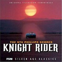"""Stu Phillips """"KNIGHT RIDER"""" score FSM 3000 Limited CD sold out SEALED NEW"""