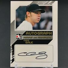 In The Game Rookie Chris Sale Baseball Cards For Sale Ebay