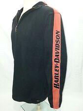 Harley Davidson Knitted 1/4 Zip Sweater