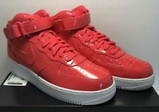 Nike Mens Size 12 Air Force 1 Mid '07 LV8 AF1 UV Shoes Siren Red AO0702-600