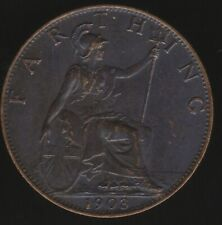 More details for 1903 edward vii farthing coin | british coins | pennies2pounds