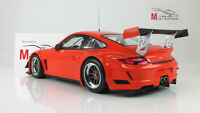 Scale car 1:18, PORSCHE 911 GT3R - STREET - 2010 - ORANGE
