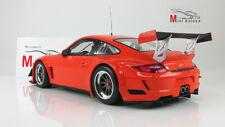 Scale car 1:18, PORSCHE 911 GT3R - STREET - 2010 - ORANGE
