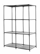Metall Steckregal 104x68x34 cm - 6 Fächer - Mehrzweck Ablage Stand Lager Regal