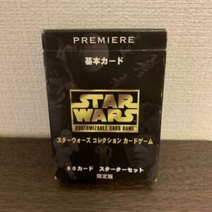 STAR WARS Collection Card Game Basic Card Starter Set Limited Edition Japanese