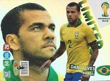 Panini Adrenalyn XL World Cup 2014 Limited Edition Dani Alves