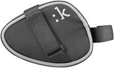 FIZIK Li: nk Small Saddle bag, Bike, Reflecting, Touch fastener, Black
