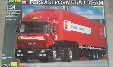 REVELL IVECO Ferrari Formula 1 team truck 1/24 model kit Bausatz maquette 07561