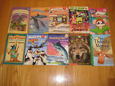 Lot of 10 Children's Books Level 2  Early Readers SpongeBob, Little Pet Shop  S2