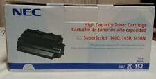 NEC 20-152 Original Superscript 1400,1450,1450N High Capacity Toner
