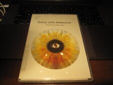 Being John Malkovich (Dvd, 2012, 2-Disc Set, Criterion Collection) w/booklet