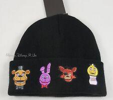 Five Nights At Freddy's Fazbear's Pizza Characters Watchman Knit Beanie Hat Cap