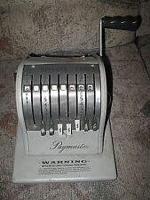 Vintage PAYMASTER Series X-2000 Check Printer Green Metal Style