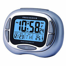 Alarm Clock with Date Temperature Precision Time Digital Calendar Light