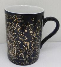 Lebkuchen Schmidt Märchen Sammelbecher Porzellan Kaffee Becher Nr 3 Kobalt Gold