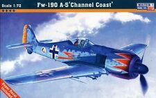 Focke Wulf Fw 190 A-5 (Priller, kirchmayr, wickopr & Graf Aces) 1/72 Mastercraft