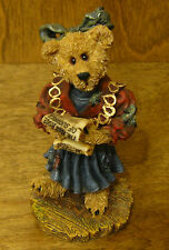 Boyds Bearstones #228324SYN Justina...The Choir Singer NIB From Retail Store