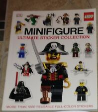 Lego Ultimate Sticker Collection Minifigure Book w/ 1000+ Reusable Stickers New