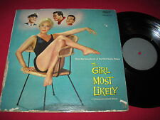 SOUNDTRACK CHEESECAKE LP - THE GIRL MOST LIKELY - JANE POWELL CAPITOL W-930