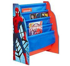 Spiderman Honda Librería azul y rojo Niños dormitorio juguete libro