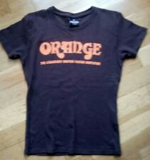ORANGE AMPLIFIERS T SHIRT LABEL READS SMALL great condition!Email any questions