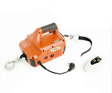 450KG*4.6M Portable Household Electric Winch With Wireless Remote Control  220V
