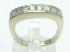 Goldring Ring 585 GOLD 14 Karat Brillant Diamant diamond bague or anello oro