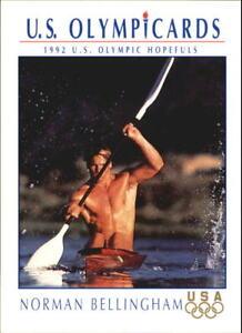 1992 Impel U.S. Olympic Hopefuls #29 Norman Bellingham/Canoe/Kayak