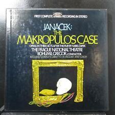 Gregor - Janáček: The Makropulos Case Mint- 2 LP box set Epic B2C 167 USA