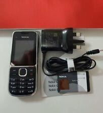 Brand New Nokia C2-01 - Black (Unlocked) Mobile Phone+warranty+UK Seller