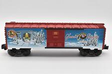 LIONEL 39322, 0-GAUGE 2010 CHRISTMAS CAR WITH OPENING DOORS, LIONEL POST WAR