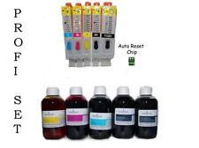 Autoreset cartouches canon pixma ip7250 mg5550 mg5650 mg6450 + 500ml encre de marque