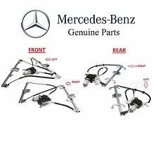 NEW Mercedes W463 G-Class Set of 2 Front & Rear Window Regulators & Motors Kit