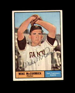 Mike McCormick Hand Signed 1961 Topps San Francisco Giants Autograph