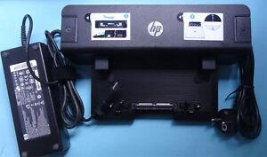 DockingStation HP EliteBook 8460w 8540p 8760w 6445b 6465b 120W Netzteil USB3