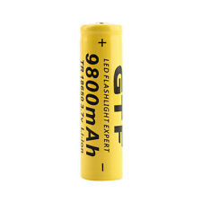 1pc 3.7V 18650 9800mAh Li-ion Rechargeable Battery For Flashlight Torch GL