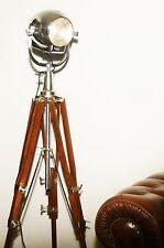 VINTAGE THEATRE LIGHT ANTIQUE LONDON STUDIO FILM FLOOR LAMP EAMES STARCK 50s 60s